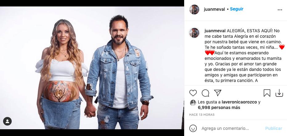 Laura Mayolo y Juan Medina lanzan 'Alegría' y dan noticia de su embarazo