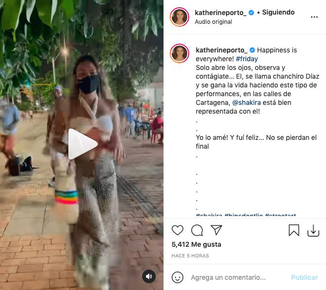 Katherine Porto surprises dancing like Shakira