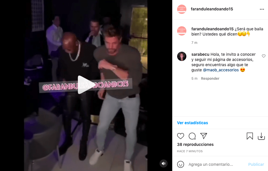 William Levy enamoró bailando salsa en su celebración de cumpleaños
