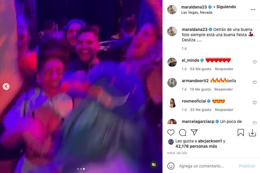 Novia del Mindo y la fiesta que tuvo junto a Karol G en las Vegas