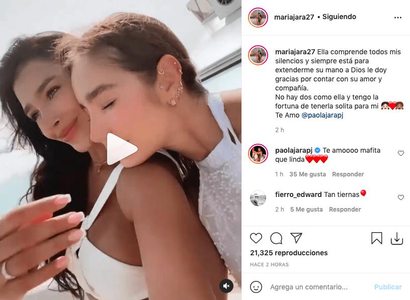 Hermana de Paola Jara le demostró su amor a la artista con emotivo video