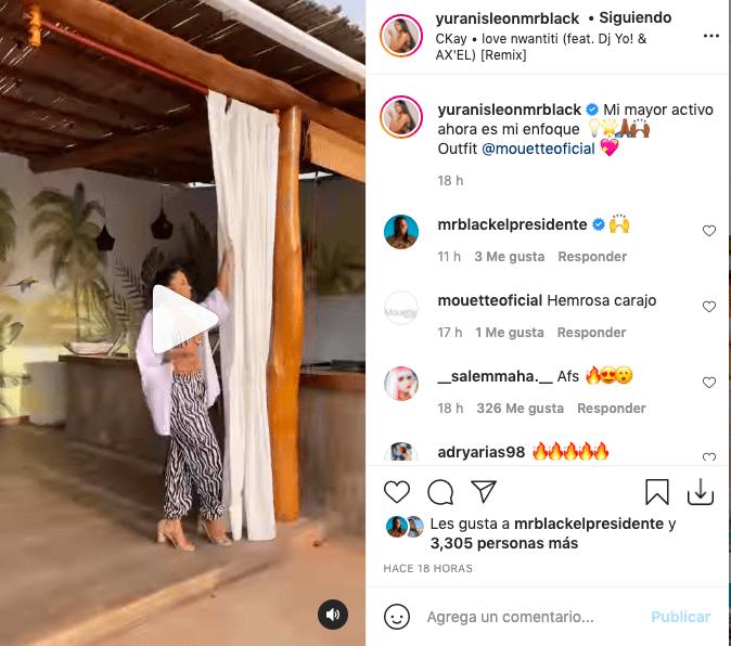 Yuranis León enamora con atuendo de cebra llevando miradas a su pecho