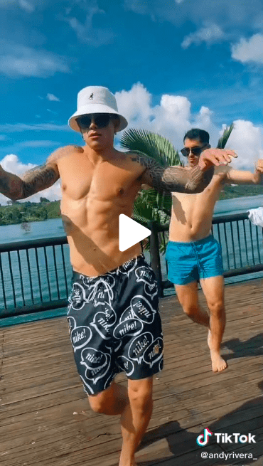 Andy Rivera sorprende tras sumarse a viral baile de redes