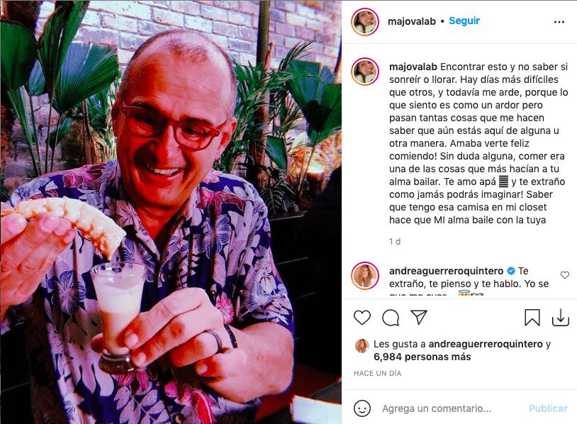 Hija de Jota Mario desempolva conmovedora foto de su papá