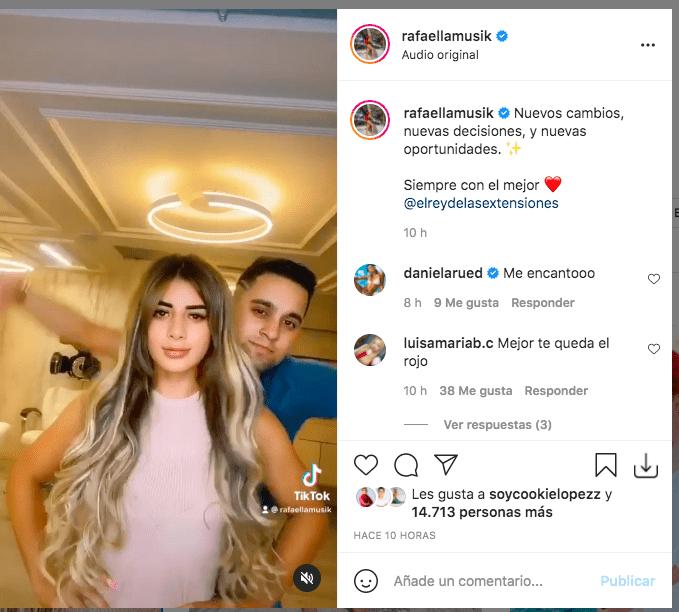 Nuevo cambio de look de Rafaella, hija de Marbelle