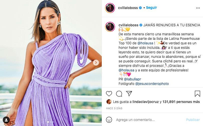 El secreto de belleza de Carmen Villalobos para verse eternamente joven / @Cvillaloboss