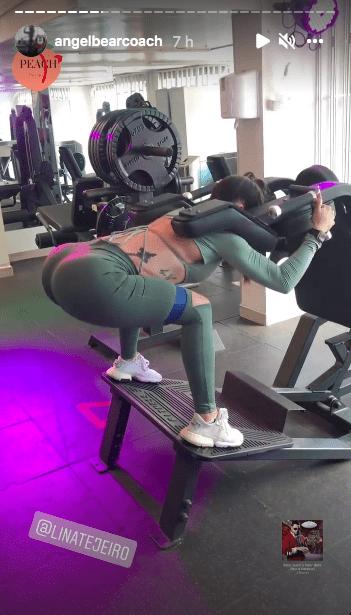 Lina Tejeiro y su ejercicio preferido para tener piernas envidiables / @angelbearcoach