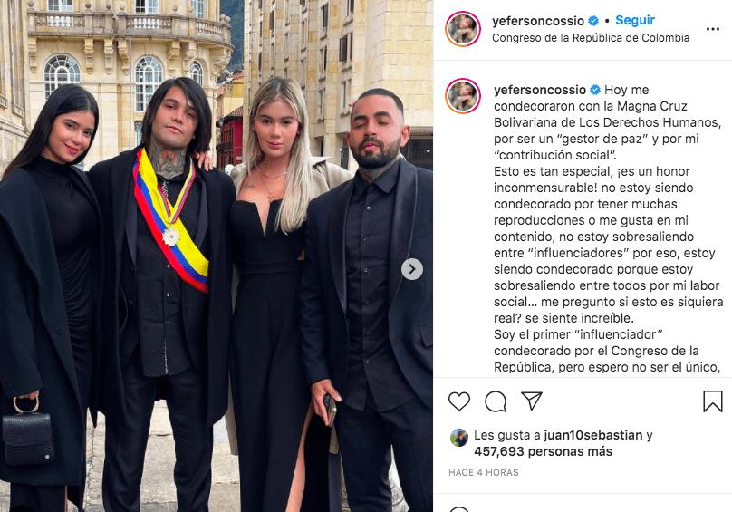 Yeferson Cossio Congreso Nacional de Colombia