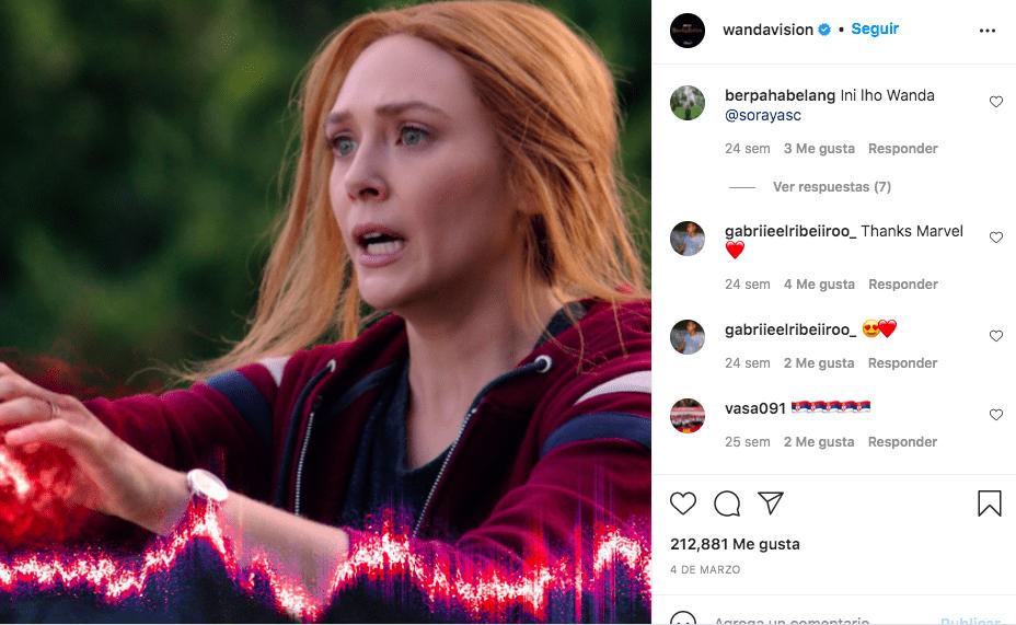 Marvel estaría preparando un spin-off para WandaVision/ @Wandavision