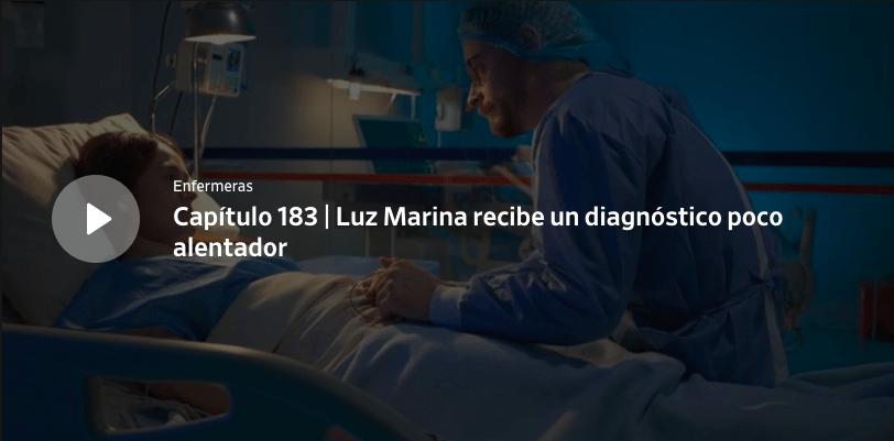 Enfermeras capítulo 183