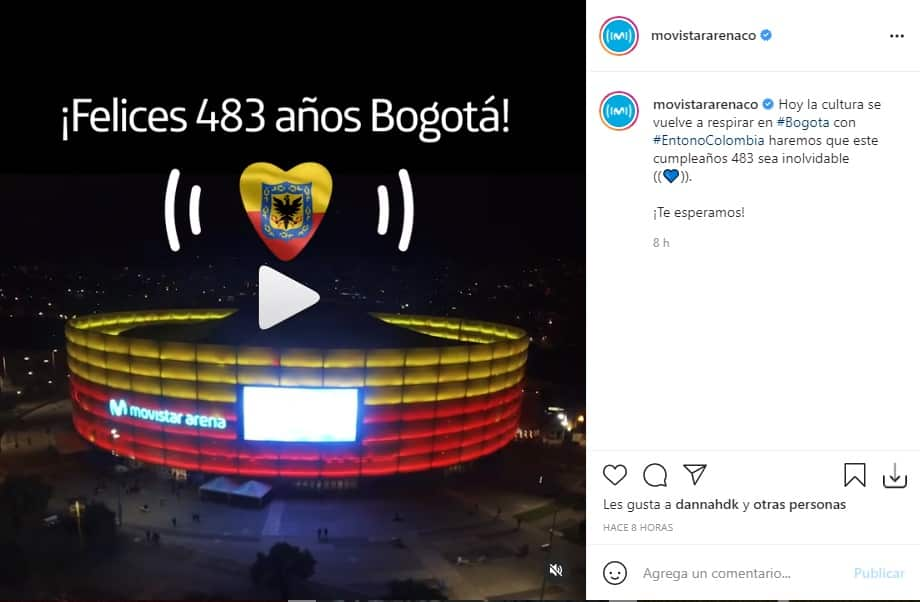 Concierto Cumpleaños Bogotá 2