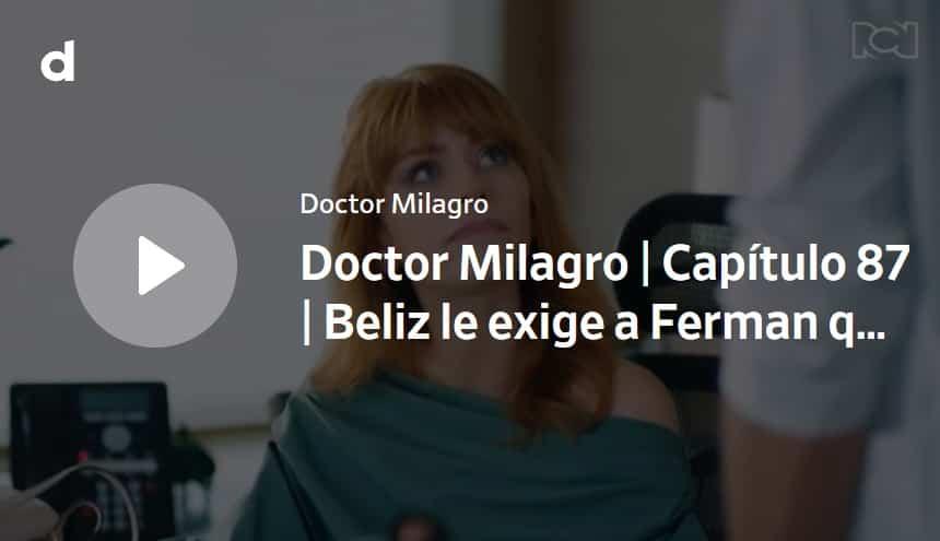 Doctor Milagro, capítulo 87