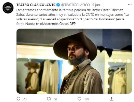 Falleció Óscar Sánchez Zafra 2