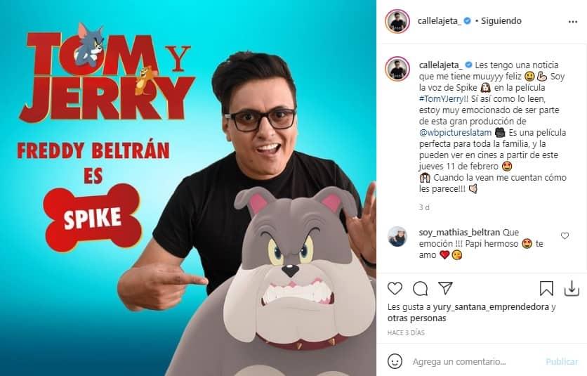 Freddy Beltran Tom Jerry 2