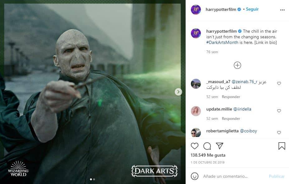 Cinco datos sobre Voldemort