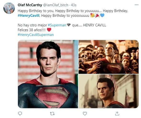 Henry Cavill cumple años y fanáticos llenan las redes con felicitaciones