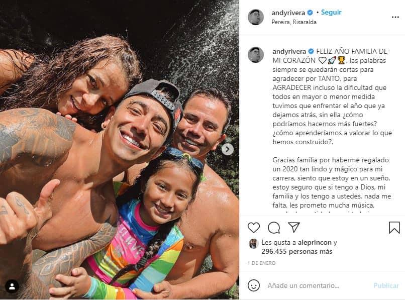 Andy Rivera y su hija Hellen comparten momentos juntos.