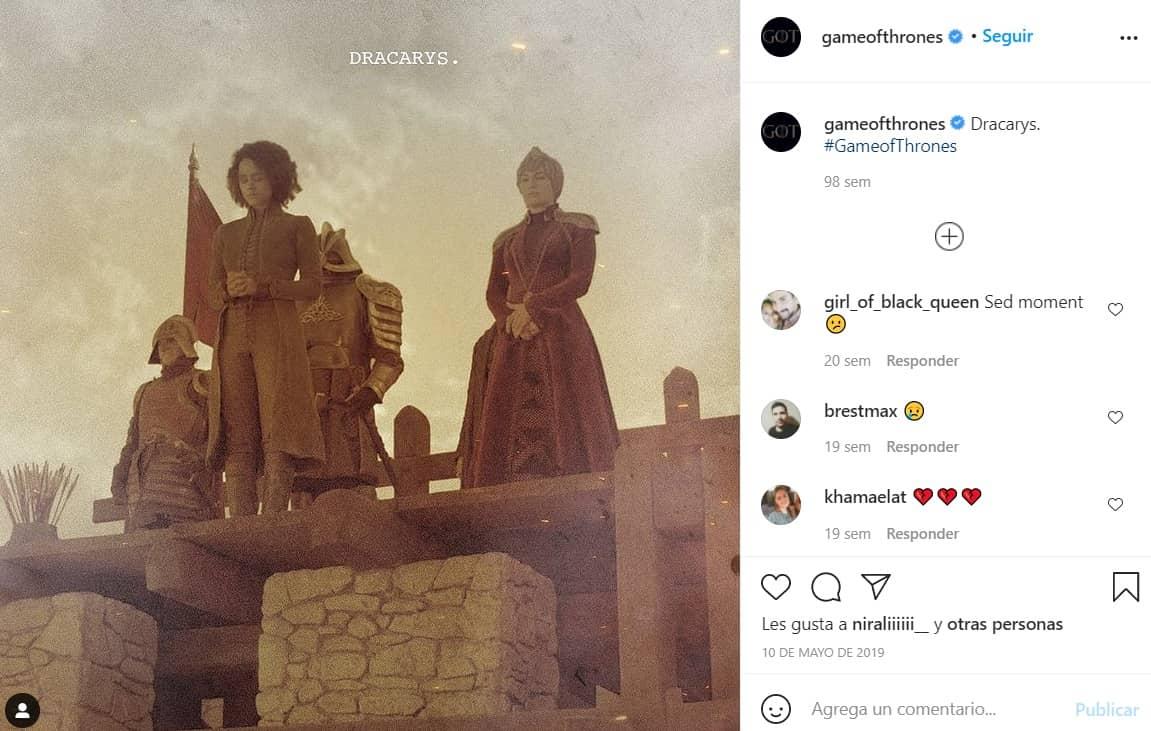 Game of Thrones ha marcado un hito en el cine