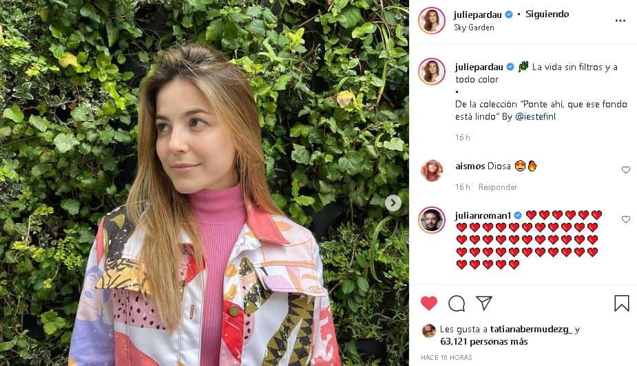 Juliette Pardau sin filtro