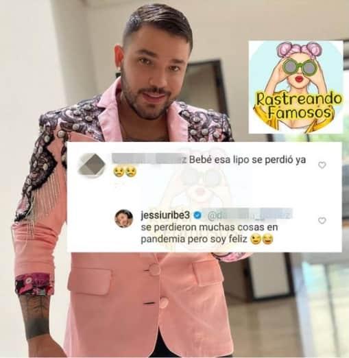 Jessi Uribe lipo perdida 2