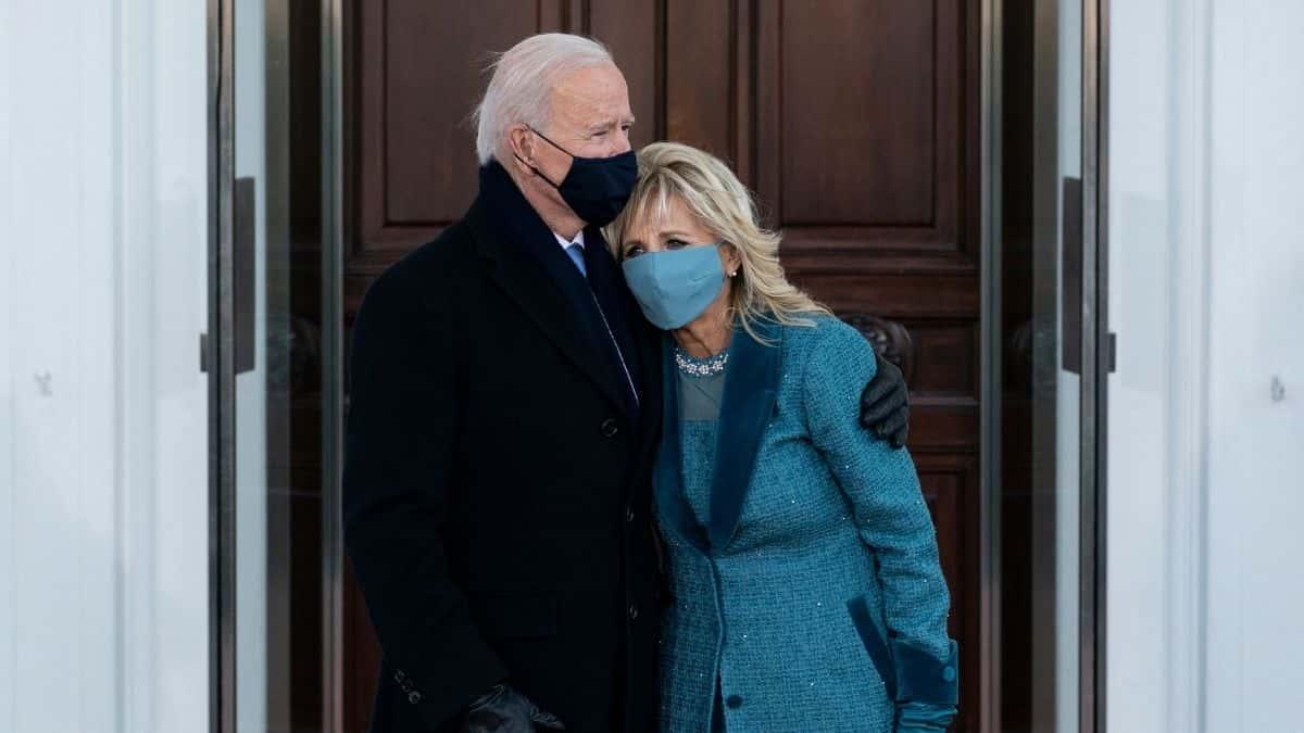 Joe Jill Biden Vestido