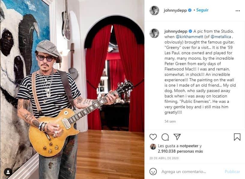 Johnny Depp subasta poema escrito a Winona Ryder