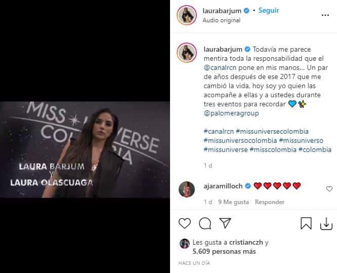 Laura Barjum Miss Universe Colombia