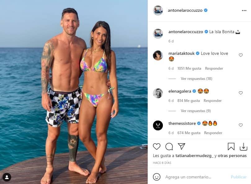 Lionel Messi y Antonela Roccuzzo 2