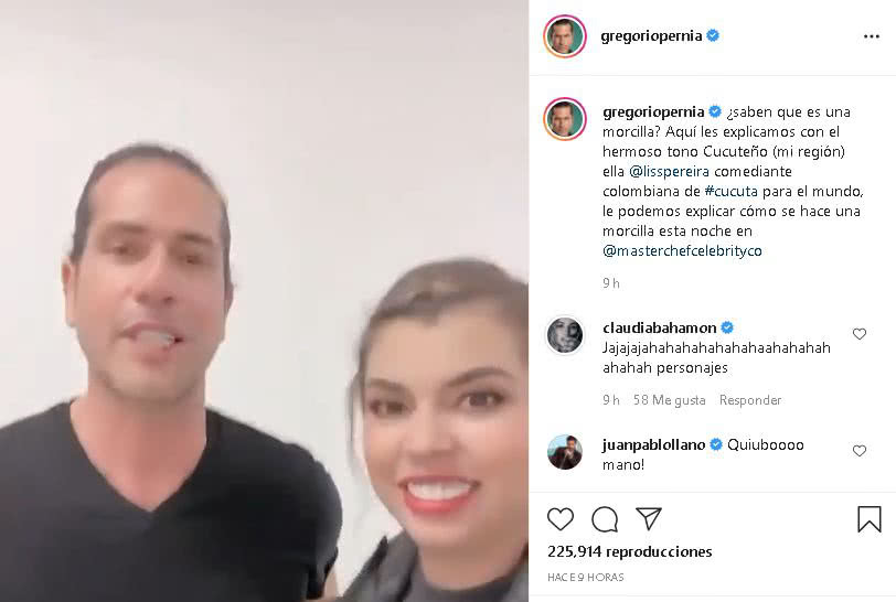 Liss y Gregorio
