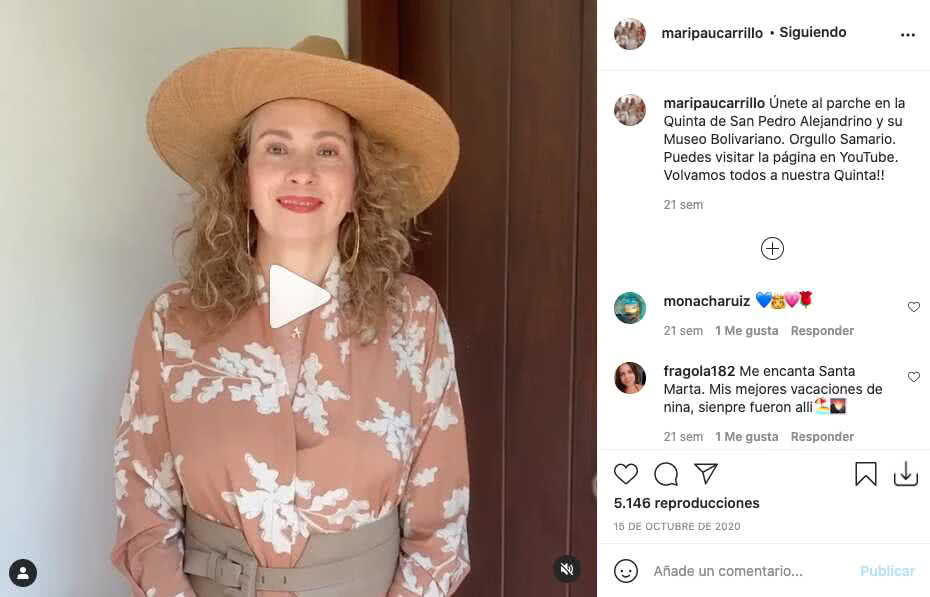 Mamá de Taliana Vargas enamora con su físico