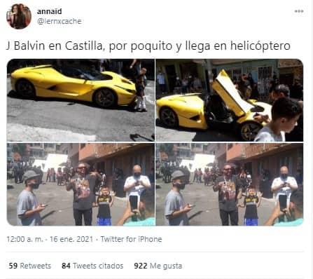 Meme Balvin Ferrari 3