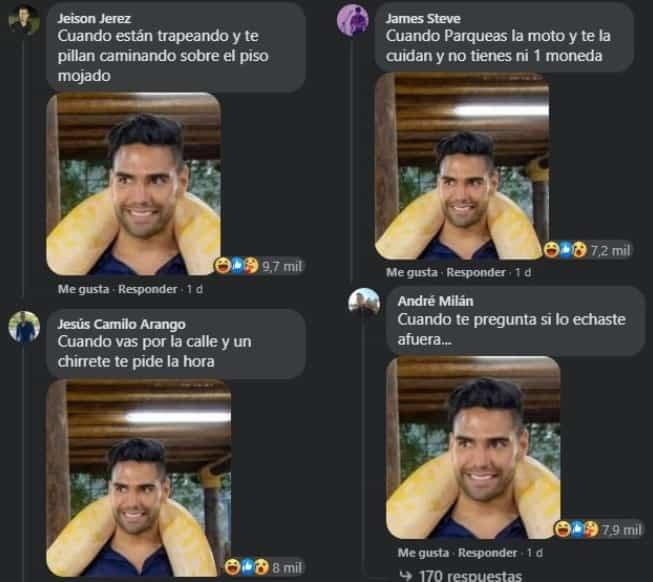 Memes Falcao Serpiente 3