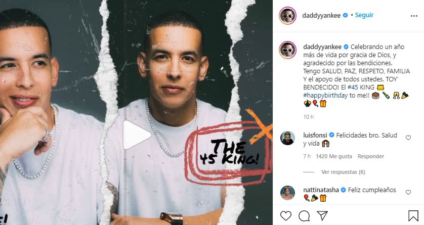 Mensaje J Balvin a Daddy Yankee 2