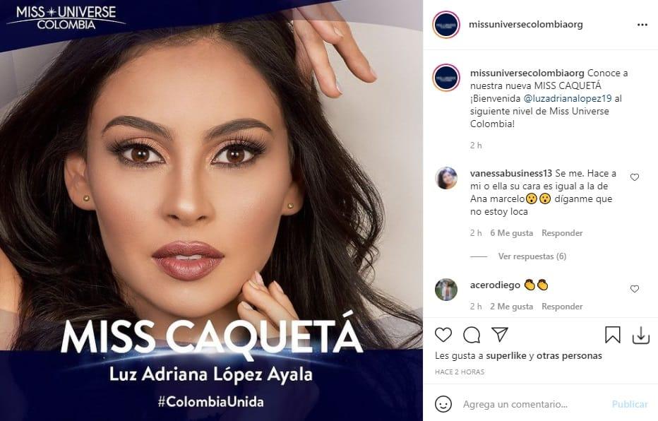 Miss Universe Colombia 2021 Caquetá