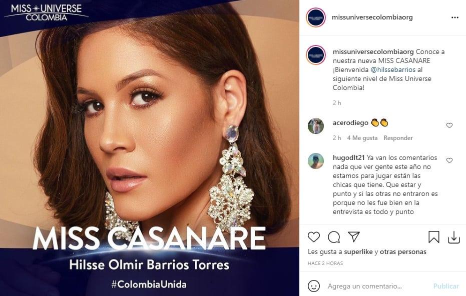 Miss Universe Colombia 2021 Casanare