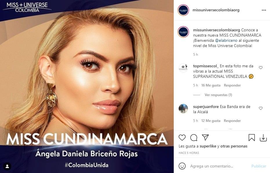 Miss Universe Colombia 2021 Cundinamarca