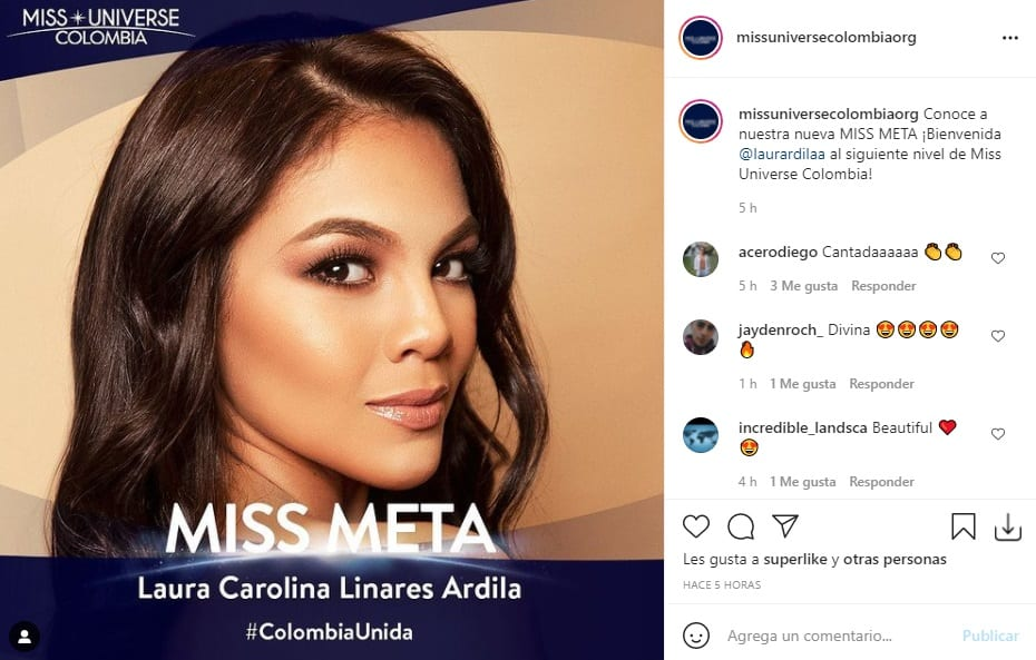Miss Universe Colombia 2021 Meta