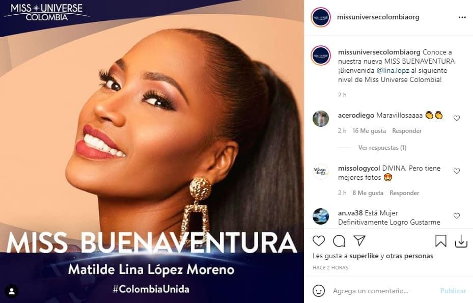 Miss Universe Colombia Buenaventura