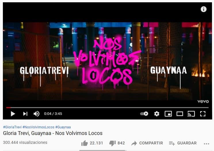 Nos Volvimos Locos Gloria Trevi y Guaynaa 2