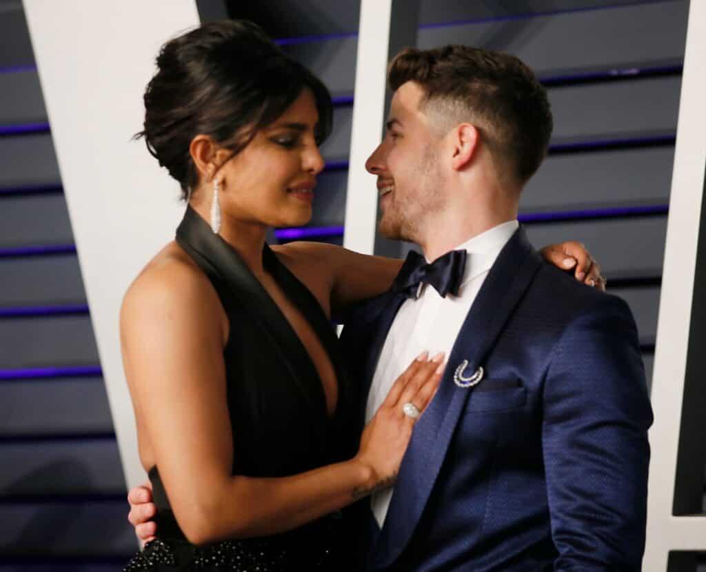 Priyanka Chopra y Nick Jonas / Gorspy Group