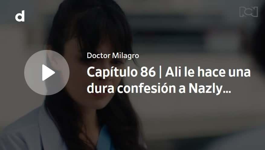 Doctor Milagro, capítulo 86