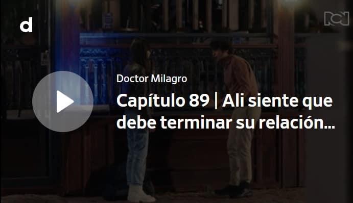 Doctor Milagro, capítulo 89