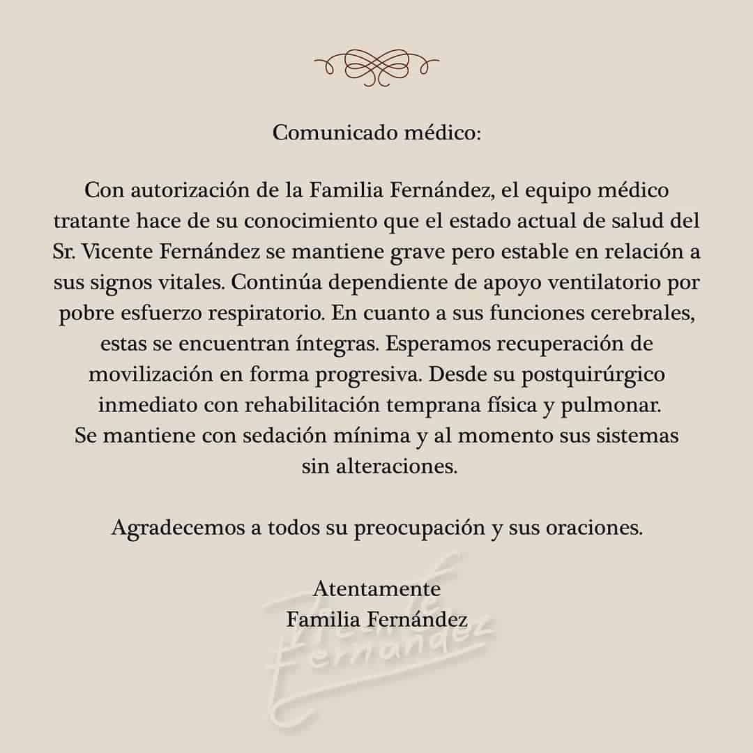 Salud Vicente Fernández