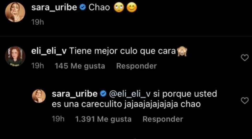Sara Uribe Responde Criticas 2
