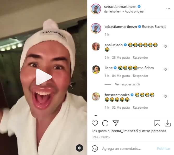 Sebastian Martinez reto viral 2