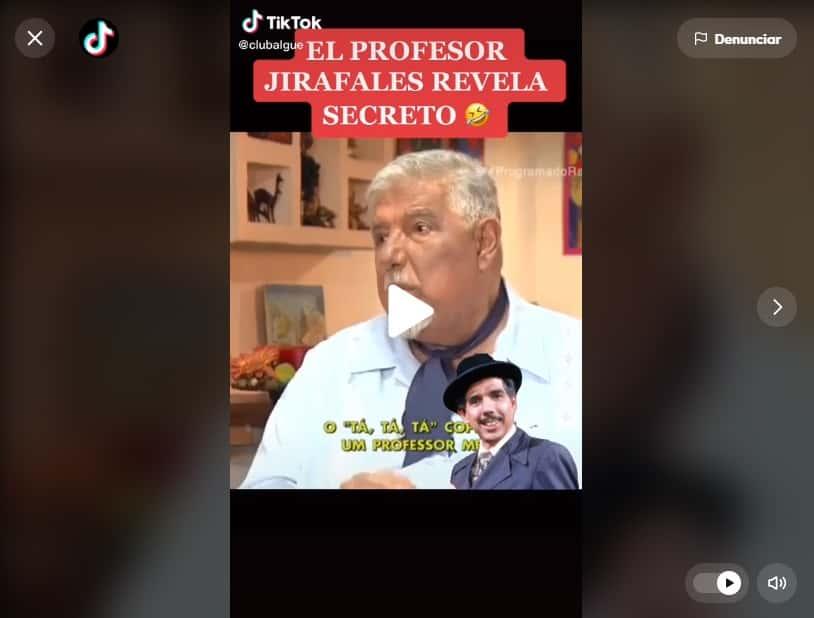 Ta ta ta Profesor Jirafales 3
