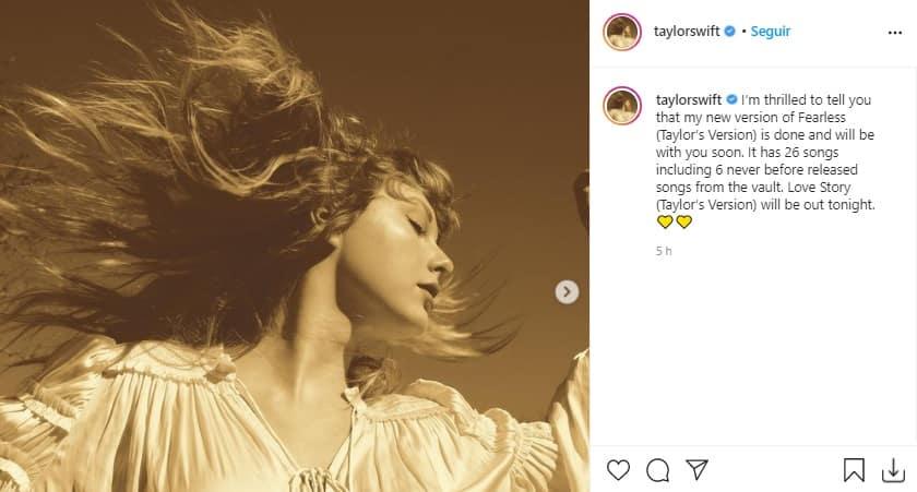 Taylor Swift Nuevo Album 2