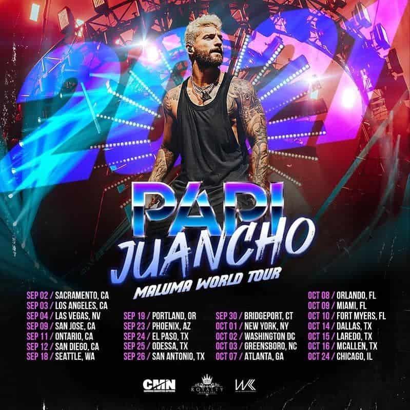 Tour Maluma Papi Juacho 2