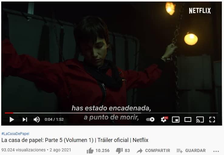 Trailer Casa de Papel 5 2