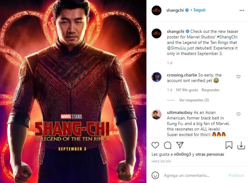 Trailer Shang-Chi y la leyenda de los diez anillos 2